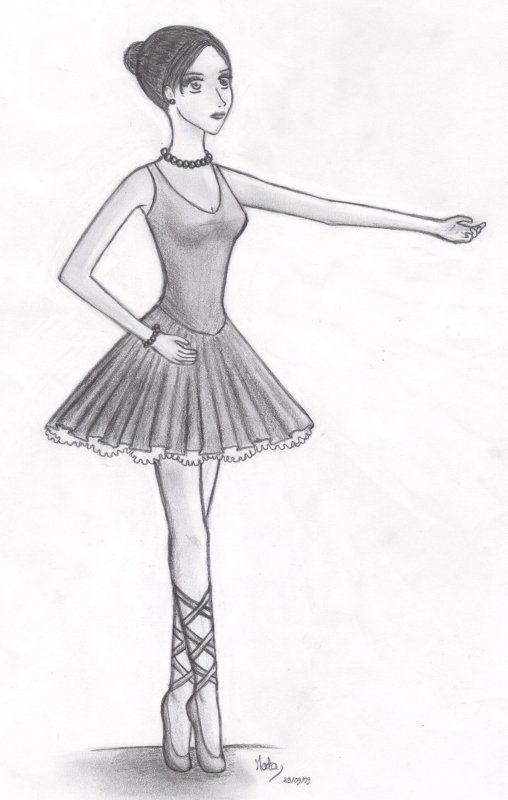 Danse - Dessiner une danseuse ...